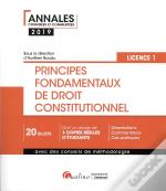 Principes Fondamentaux De Droit Constitutionnel - L1-S1 - 3eme Edition