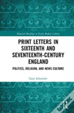 Print Letters In Sixteenth And Seve