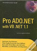 Pro Ado.Net With Vb .Net 1.1