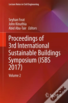 Proceedings Of 3rd International Sustainable Buildings Symposium (Isbs 2017)