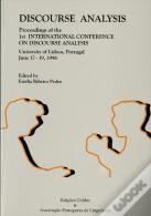 Proceedings Of First International Conference On Discourse Analisys