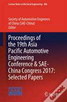 Proceedings Of The 19th Asia Pacific Automotive Engineering Conference & Sae-China Congress 2017