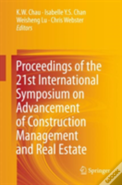 Wook.pt - Proceedings Of The 21st International Symposium On Advancement Of Construction Management And Real Estate