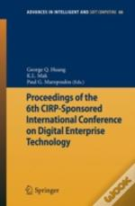 Proceedings Of The 6th Cirpsponsored Int