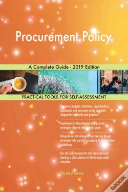 Wook.pt - Procurement Policy A Complete Guide - 2019 Edition