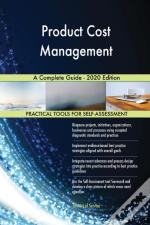 Product Cost Management A Complete Guide
