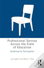 Professional Service Across The Field Of Education