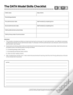 Project Data Skills Checklist Forms