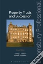 Property Trusts And Succession