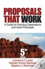 Proposals That Work