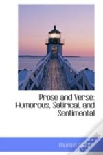 Prose And Verse