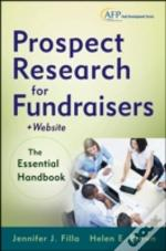 Prospect Research For Fundraisers + Web Site