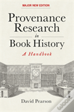 Provenance Research In Book History
