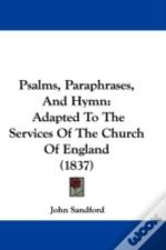 Psalms, Paraphrases, And Hymn