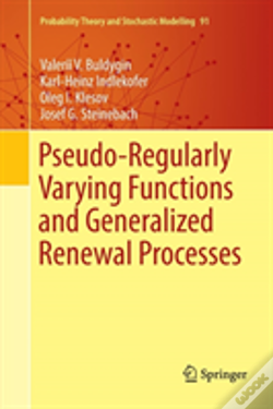 Wook.pt - Pseudo-Regularly Varying Functions And Generalized Renewal Processes