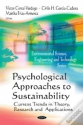 Psychological Approaches To Sustainabili