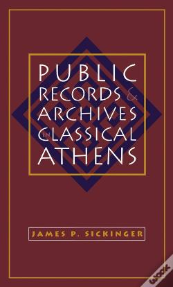 Wook.pt - Public Records And Archives In Classical Athens