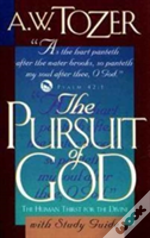 Pursuit Of God With Study Guide The