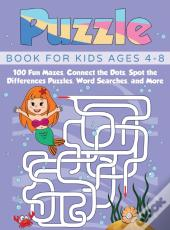 Puzzle Book For Kids Ages 4-8