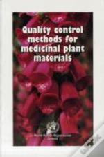 Quality Control Methods For Medicinal Plant Materials