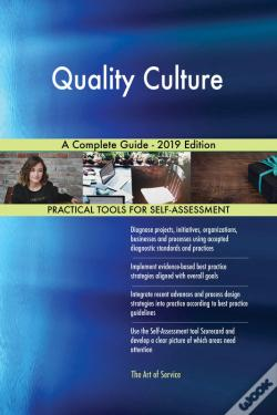 Wook.pt - Quality Culture A Complete Guide - 2019 Edition
