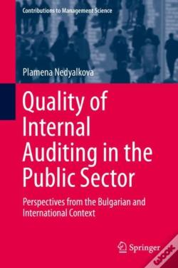 Wook.pt - Quality Of Internal Auditing In The Public Sector