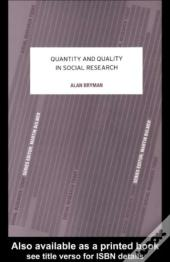 Quantity and quality in social research alan bryman ebook wook fandeluxe Image collections