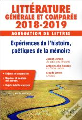 Questions De Litterature Generale Et Comparee Agregation De Lettres 2018-2019