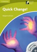 Quick Change Book & Cd