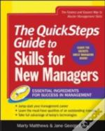 Quicksteps Guide To Skills For New Managers