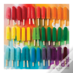 Rainbow Popsicles 500 Piece Puzzle