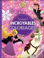Raiponce, Ateliers Disney - Incroyables Coloriages