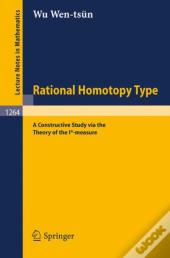 Rational Homotopy Type