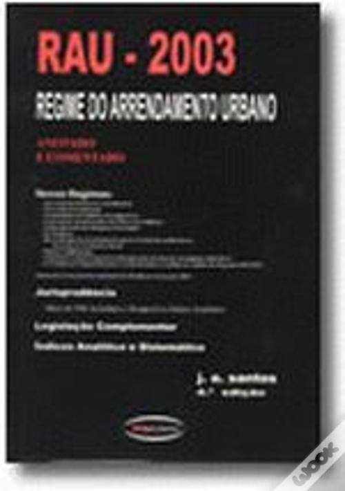RAU - 2003 Regime de Arrendamento Urbano Baixar Ebooks Do Epub