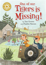 Reading Champion: One Of Our Tigers Is Missing!