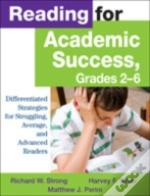 Reading For Academic Success, Grades 2-6