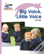 Reading Planet - Big Voice, Little Voice - Lilac: Lift-Off