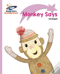 Wook.pt - Reading Planet - Monkey Says ... - Lilac Plus: Lift-Off First Words