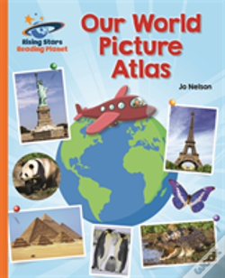 Wook.pt - Reading Planet - Our World Picture Atlas - Orange: Galaxy
