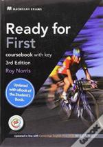 Ready For First (Fce) (3rd Edition) Student'S Book With Key With Macmillan Practice Online, Online Audio & Ebook