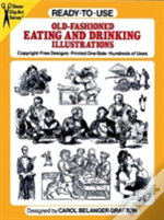 Ready To Use Old Fashioned Eating And Drinking Illustrations