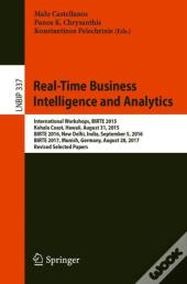 Real-Time Business Intelligence And Analytics