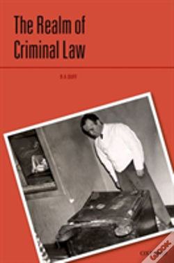 Wook.pt - Realm Of The Criminal Law Hardback