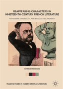 Reappearing Characters In Nineteenth-Century French Literature