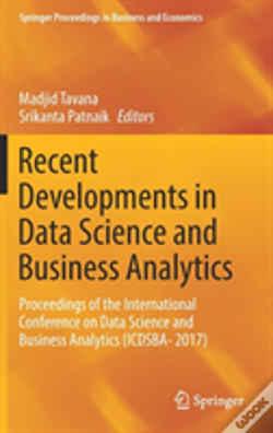 Wook.pt - Recent Developments In Data Science And Business Analytics