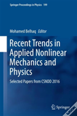 Wook.pt - Recent Trends In Applied Nonlinear Mechanics And Physics