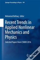 Recent Trends In Applied Nonlinear Mechanics And Physics