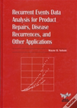 Wook.pt - Recurrent Events Data Analysis For Product Repairs, Disease Recurrences And Other Applications
