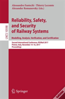 Wook.pt - Reliability, Safety, And Security Of Railway Systems. Modelling, Analysis, Verification, And Certification