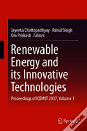 Renewable Energy And Its Innovative Technologies